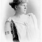 Luise Kiesselbach 1892 als Germania